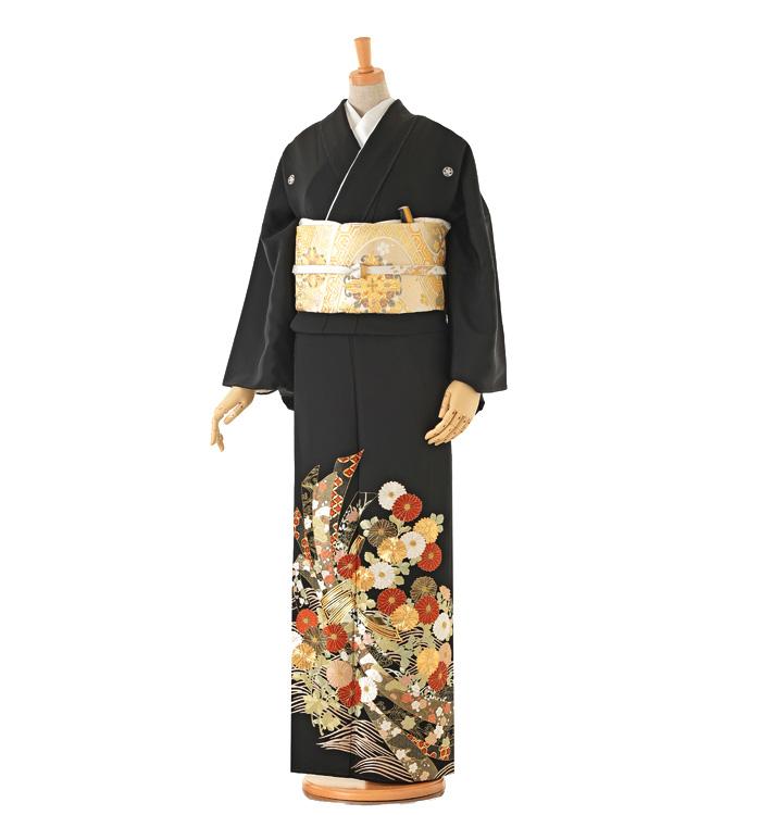 トールサイズ 総刺繍 黒留袖 No.CA-0167-LL