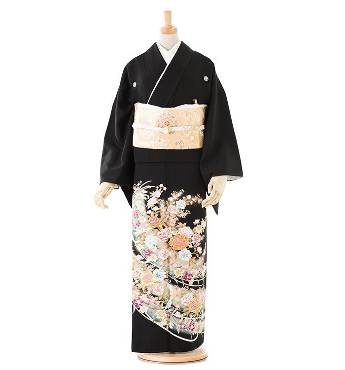 トールサイズ 黒留袖 No.CA-0185-LL
