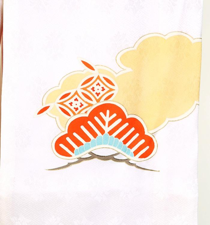 産着(女児) 松竹梅 七宝 No.AAB0020
